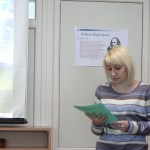 Фото №2: Студентська наукова конференція «Уживання термінологічної лексики у мові професійного спілкування».