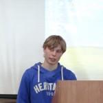 Фото №6: Студентська наукова конференція «Уживання термінологічної лексики у мові професійного спілкування».
