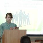 Фото №7: Студентська наукова конференція «Уживання термінологічної лексики у мові професійного спілкування».