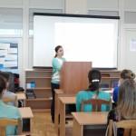 Фото №8: Студентська наукова конференція «Уживання термінологічної лексики у мові професійного спілкування».