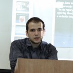 Фото №9: Студентська наукова конференція «Уживання термінологічної лексики у мові професійного спілкування».
