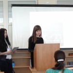 Фото №12: Студентська наукова конференція «Уживання термінологічної лексики у мові професійного спілкування».