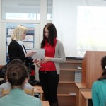 Фото №13: Студентська наукова конференція «Уживання термінологічної лексики у мові професійного спілкування».