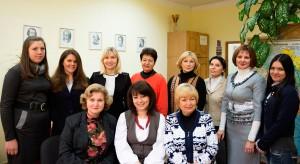 Фото: Общее фото сотрудников кафедры современных европейских языков.