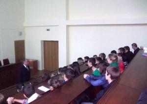 Фото: Відбувся майстер-клас проф. Моцного Ф.В. на тему «Наука – основа розвитку і прогресу людства».