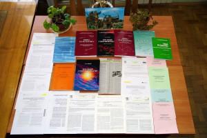 Фото: Публікації кафедри прикладної математики.