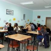 Фото: Зала студентського кафе.