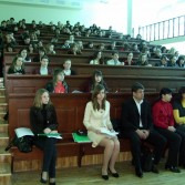 Фото №2: Студентська науково-практична конференція «Економіка та право в сучасній Україні: проблеми взаємозв'язку та співвідношення » (2011 р.)