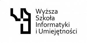 Логотип: Wyższa Szkoła Informatyki i Umiejętności w Łodzi.
