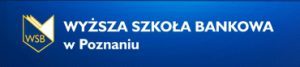 Логотип: Wyższa Szkoła Bankowa w Poznaniu (WSB).