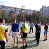 Фото №2: Відбувся турнір з футболу на першість Академії в рамках VІІІ Спартакіади.
