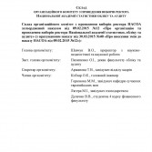 Фото: Склад оргкомітету з проведення виборів ректора НАСОА.