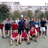 Фото №1: Відбувся турнір з футболу на першість Академії в рамках VІІІ Спартакіади.