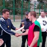 Фото №16: Відбувся турнір з футболу на першість Академії в рамках VІІІ Спартакіади.