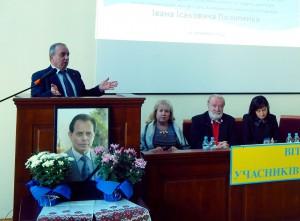 Фото: Виступ доктора економічних наук, професора, екс-прем'єр–міністра Вірменії Багратяна Гранта Араратовича.