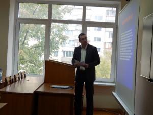 Фото: Член ГПВАУ, канд. екон. наук Сергій В'ячеславович Селіщев.