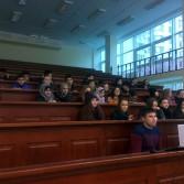 Фото: Майстер-клас зі статистики для випускників економічного класу школи №139 м. Києва.