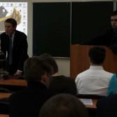 Фото №1: Студентські дебати «Глобалізація: за та проти»: «Young Generation» vs «Golden Capital».