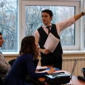 Фото №6: Студентські дебати «Глобалізація: за та проти»: «Young Generation» vs «Golden Capital».