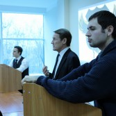 Фото №14: Студентські дебати «Глобалізація: за та проти»: «Young Generation» vs «Golden Capital».