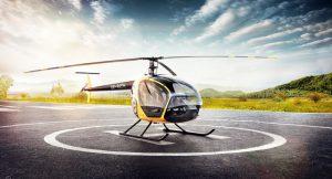 Фото: Розроблений в Україні вертоліт під назвою SL-231 «SCOUT».