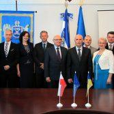 Фото №1: Підписано договір про співробітництво з Вищою банківською школою (м. Познань, Польща).