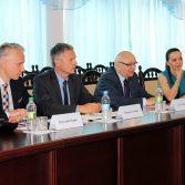 Фото №3: Підписано договір про співробітництво з Вищою банківською школою (м. Познань, Польща).
