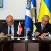 Фото №4: Підписано договір про співробітництво з Вищою банківською школою (м. Познань, Польща).