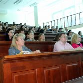 Фото №2: Презентація магістерської програми на факультеті «Обліку та аудиту».