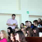 Фото №6: Презентація магістерської програми на факультеті «Обліку та аудиту».