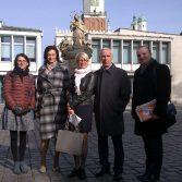 Фото №2: Делегація НАСОА відвідала Вищу банківську школу в м. Познань.