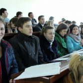Фото №1: Зустріч студентів з радником Голови Державної служби статистики України.