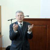 Фото №: Зустріч студентів з радником Голови Державної служби статистики України.