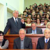 Фото №5: Зустріч студентів НАСОА з професором Віктором Михайловичем Пинзеником.