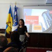 Фото №4: Студенти та керівництво Академії зустрілись з представниками Асоціації сертифікованих присяжних аудиторів в Україні.