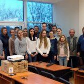 Фото №1: Засідання студентського наукового математичного гуртка.