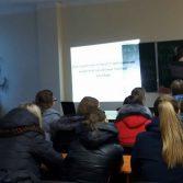 Фото №2: Засідання студентського наукового математичного гуртка.