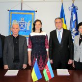 Фото №3: Підписано Меморандум про співпрацю між Академією та Центром наукових досліджень та статистичних інновацій Азербайджану.