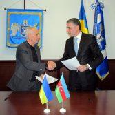 Фото №4: Підписано Меморандум про співпрацю між Академією та Центром наукових досліджень та статистичних інновацій Азербайджану.