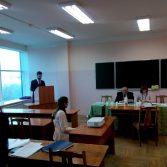 Фото №2: Захист магістерських робіт в НАСОА на факультеті обліку та аудиту.