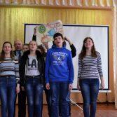 Фото №25: Інтелектуальна гра «Брейн-ринг з економіки» для школярів в Гайвороні.