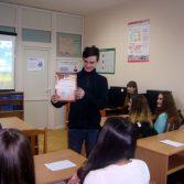 Фото: Студент 2-го курсу Красножон Володимир «Фінанси та кредит» (Викладач: Дюканова Н. М.)