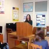 Фото: Студентка 4-го курсу Огієвич Вікторія «Фінанси та кредит» (Викладач: Никонорова Л. І.)