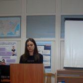 Фото: Студентка 5-го курсу Шкурдода Юлія «Менеджмент зовнішньоекономічної діяльності» (Викладач: Загородня О. Ф.)