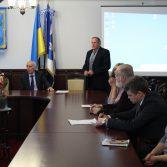 Студенти та керівництво Академії зустрілись з представниками Асоціації сертифікованих присяжних аудиторів в Україні. Фото №1.