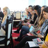 Студенти та керівництво Академії зустрілись з представниками Асоціації сертифікованих присяжних аудиторів в Україні. Фото №2.