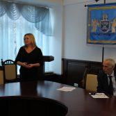 Студенти та керівництво Академії зустрілись з представниками Асоціації сертифікованих присяжних аудиторів в Україні. Фото №4.