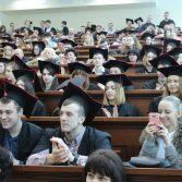 Свято вручення дипломів випускникам магістрам. Фото №9.