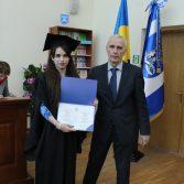 Свято вручення дипломів випускникам магістрам. Фото №11.