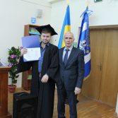 Свято вручення дипломів випускникам магістрам. Фото №12.